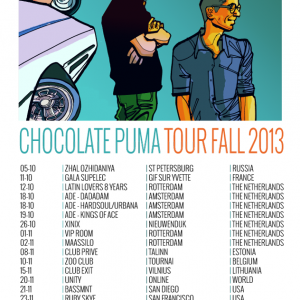 Chocolate Puma Tour Fall 2013 DJ Mix